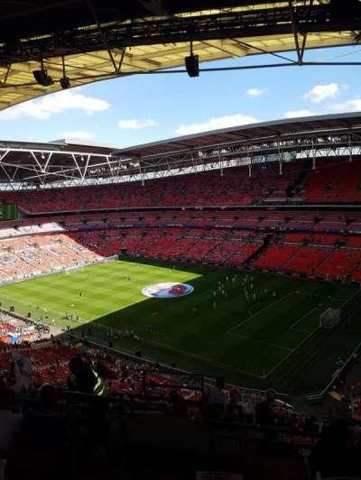 Wembley Stadium, secção: 547, fila: 19, lugar: 219
