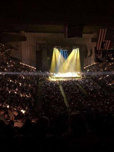 Royal Farms Arena, secção: 327, fila: K, lugar: 14