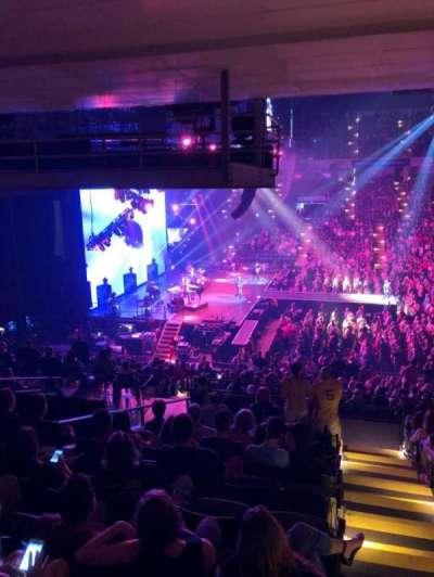 Royal Farms Arena, secção: 207, fila: L, lugar: 1