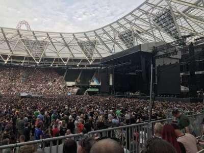 London Stadium secção 110