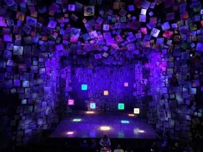 Cambridge Theatre, secção: Dress Circle, fila: A, lugar: 17