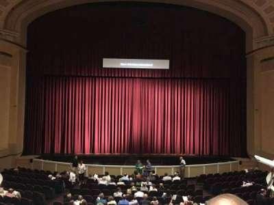 Merrill Auditorium, secção: Grand tier section 3, fila: B, lugar: 10