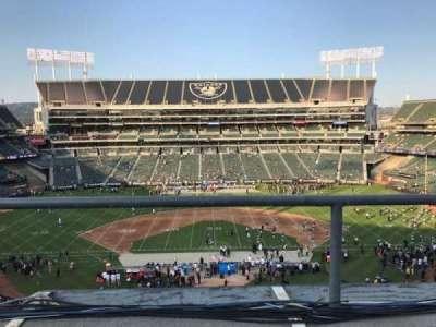 Oakland Coliseum secção 317