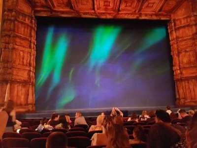 St. James Theatre secção Orch Middle