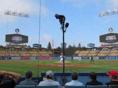 Dodger Stadium secção 1DG