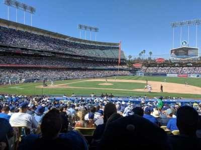 Dodger Stadium secção 20FD