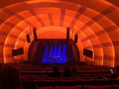 Radio City Music Hall secção 3rd mezzanine 3