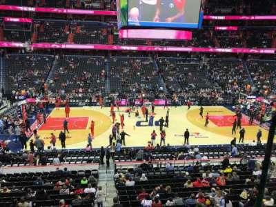 Capital One Arena secção 214