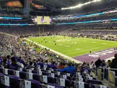 U.S. Bank Stadium secção 103