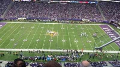 U.S. Bank Stadium secção 341