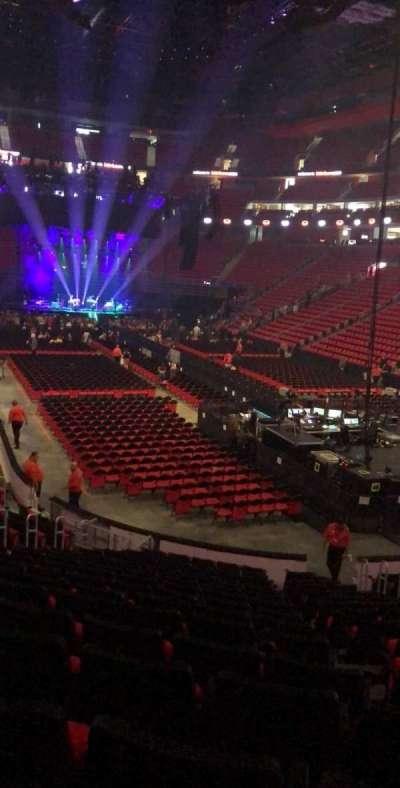 Little Caesars Arena secção 117