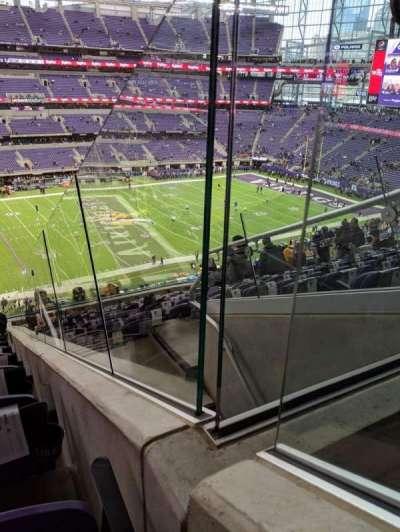 U.S. Bank Stadium secção 214