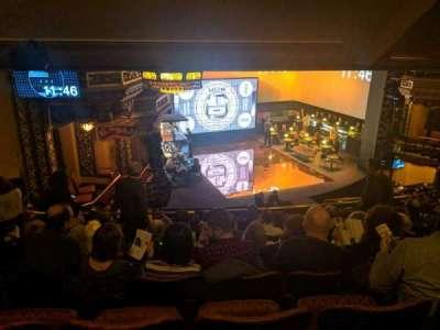 Belasco Theatre secção mezzanine l