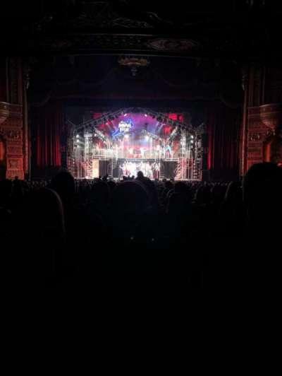 Fox Theatre (Detroit) secção 4 main floor
