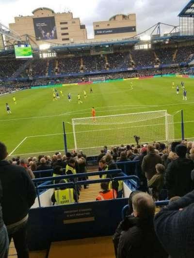 Stamford Bridge secção Matthew Harding Lower - L12