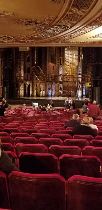 Ohio Theatre (Columbus) secção Orchestra 1