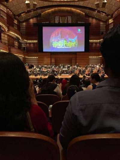 Dewan Filharmonik Petronas, secção: Stalls, fila: S, lugar: 16