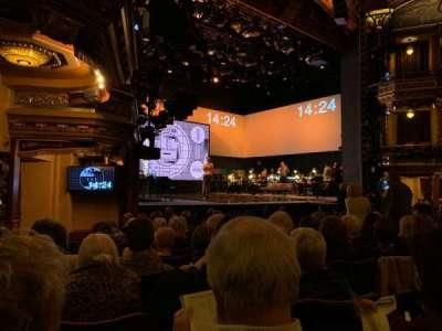 Belasco Theatre secção Orchestra L