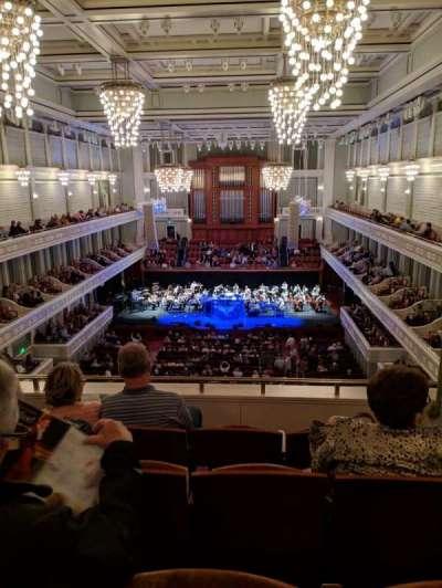 Schermerhorn Symphony Center secção 11