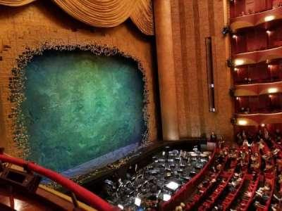 Metropolitan Opera House - Lincoln Center, secção: Grand tier, fila: Box 33, lugar: 1