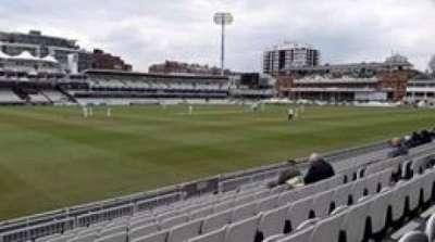 Lord's Cricket Ground, secção: Lower Tier, fila: 9, lugar: 194