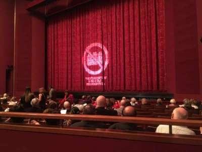 The Kennedy Center Opera House, secção: Orchestra, fila: R, lugar: 16