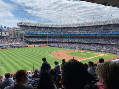 Yankee Stadium, secção: 229, fila: 19, lugar: 7