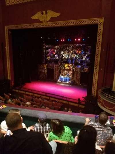 National Theatre (DC), secção: Mezz Right, fila: D , lugar: 18