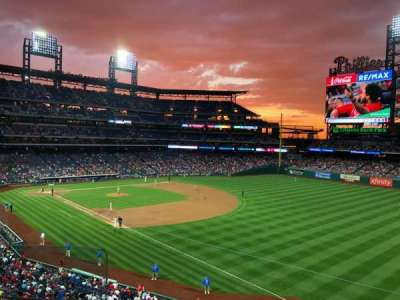 Citizens Bank Park secção 208