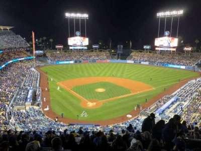 Dodger Stadium, secção: 2RS, fila: R, lugar: 19