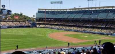 Dodger Stadium, secção: 153LG, fila: P, lugar: 2