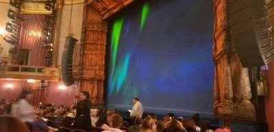 St. James Theatre, secção: Orchestra, fila: J, lugar: 24