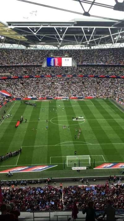 Wembley Stadium secção 540