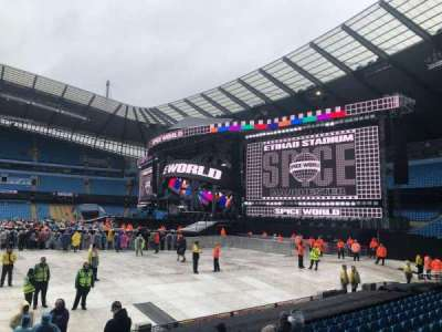 Etihad Stadium (Manchester) secção 104