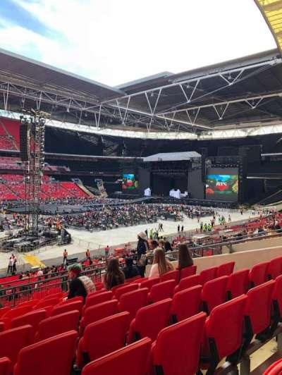 Wembley Stadium secção 104