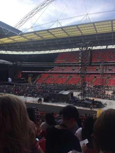 Wembley Stadium secção 121