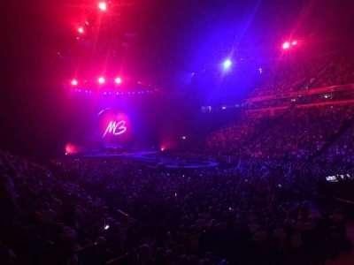 Manchester Arena, secção: 106, fila: K, lugar: 1