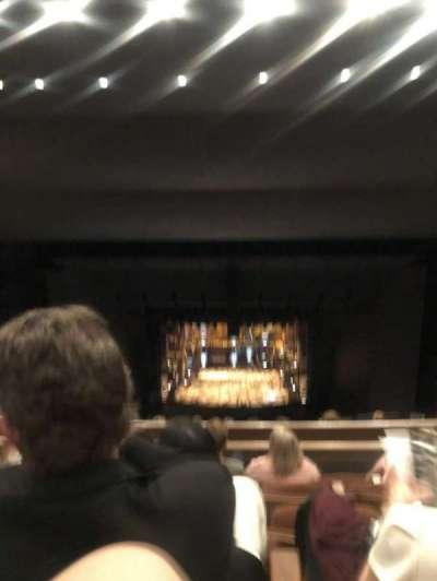 Bass Concert Hall secção Second Upper Balcony