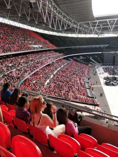 Wembley Stadium secção 517