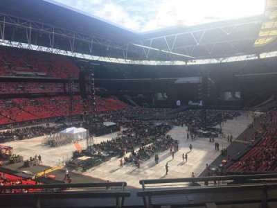Wembley Stadium secção 209