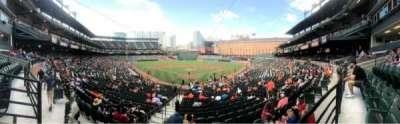 Oriole Park at Camden Yards, secção: 35, fila: 1, lugar: 12