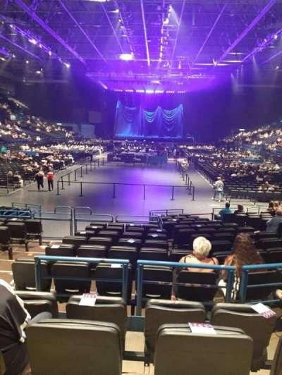 Arena Birmingham, secção: 6, fila: P, lugar: 269