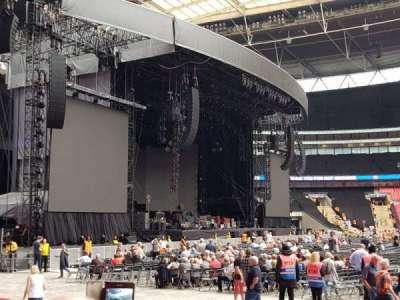 Wembley Stadium secção 125