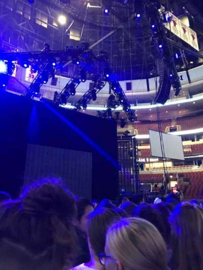 United Center secção GA Floor Standing