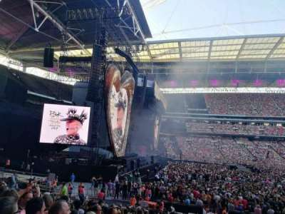 Wembley Stadium secção 126