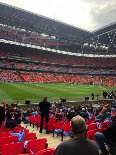 Wembley Stadium secção 103