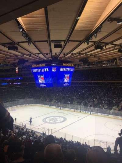 Madison Square Garden, secção: 214, fila: 7, lugar: 9