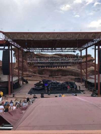 Red Rocks Amphitheatre secção Center