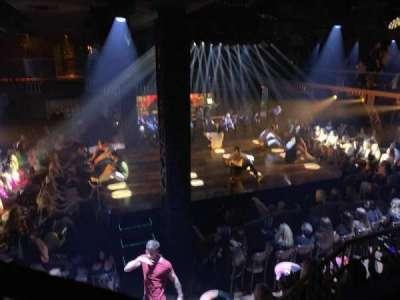 Club Domina at Hard Rock Las Vegas, secção: 501, fila: 1, lugar: 2