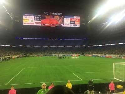 NRG Stadium, secção: 138, fila: G, lugar: 3